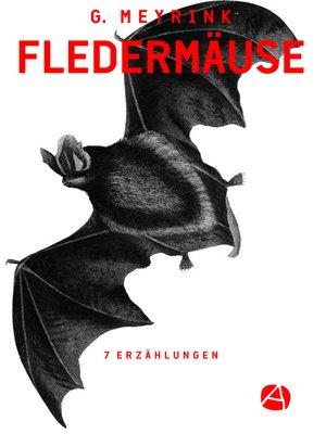 cover image of Fledermäuse