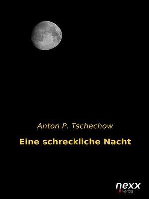cover image of Eine schreckliche Nacht