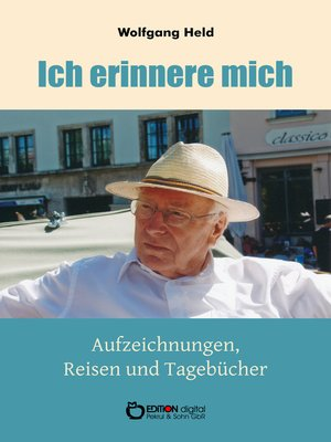 cover image of Ich erinnere mich