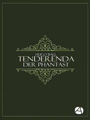 cover image of Tenderenda der Phantast