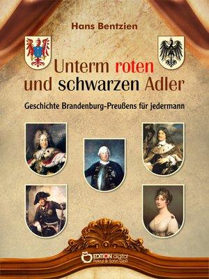 cover image of Unterm roten und schwarzen Adler