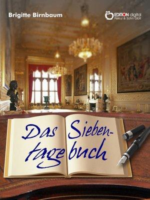 cover image of Das Siebentagebuch