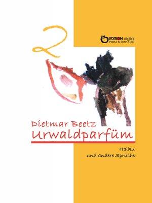 cover image of Urwaldparfüm