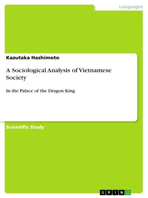 cover image of A Sociological Analysis of Vietnamese Society