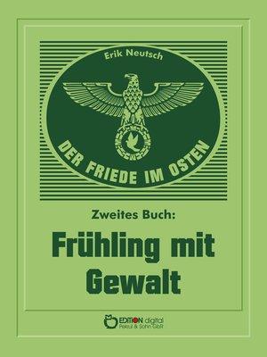 cover image of Der Friede im Osten. Zweites Buch