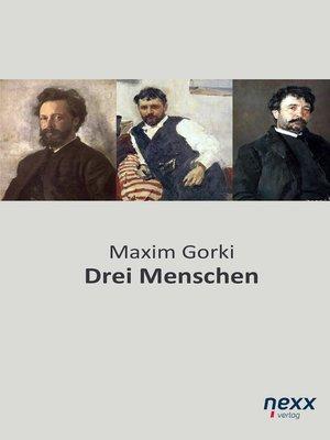 cover image of Drei Menschen