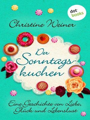 cover image of Der Sonntagskuchen