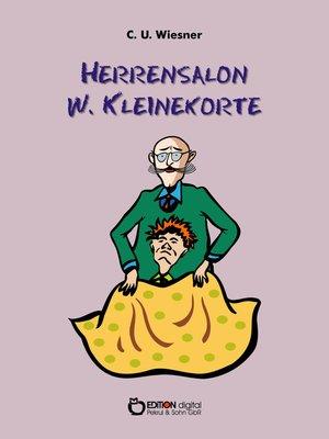 cover image of Herrensalon W. Kleinekorte