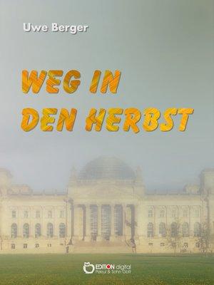 cover image of Weg in den Herbst