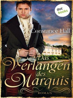cover image of Das Verlangen des Marquis