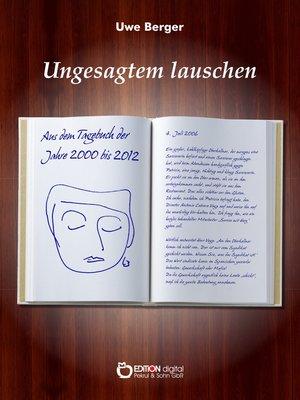 cover image of Ungesagtem lauschen