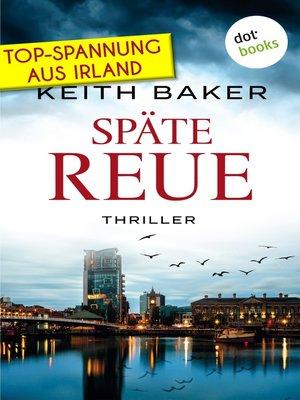 cover image of Späte Reue