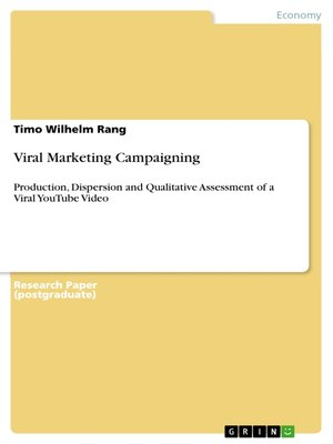 cover image of Viral Marketing Campaigning