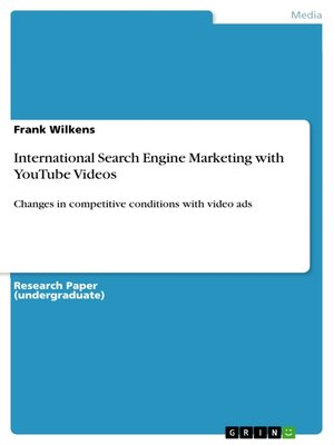 cover image of International Search Engine Marketing with YouTube Videos