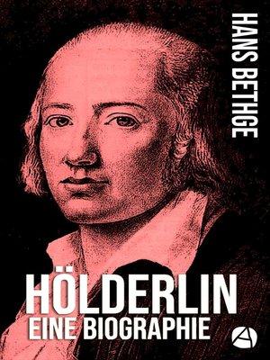 cover image of Hölderlin