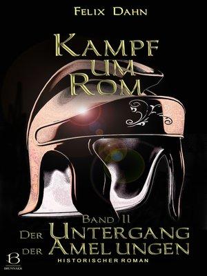 cover image of Kampf um Rom. Band II
