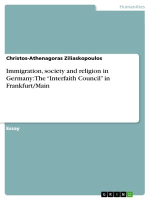 cover image of Immigration, society and religion in Germany