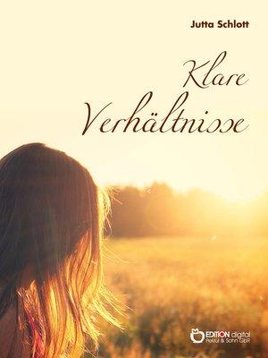 cover image of Klare Verhältnisse