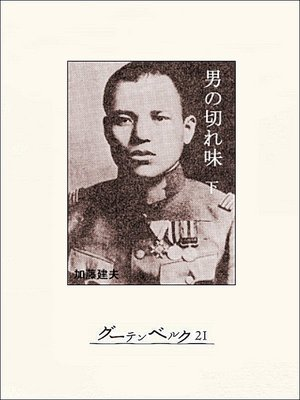 cover image of 男の切れ味(下)