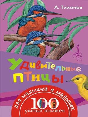 cover image of Удивительные птицы