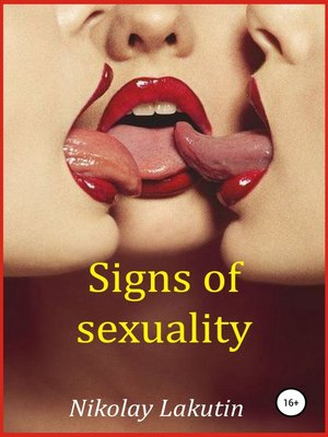 cover image of Signs of sexuality