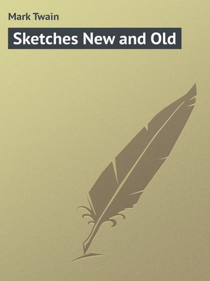 cover image of Sketches New and Old