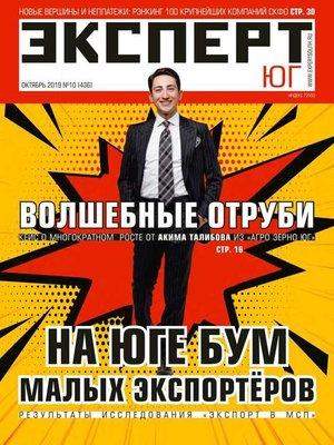 cover image of Эксперт Юг 10-2019