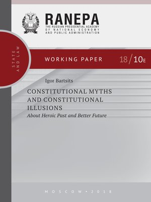 cover image of Constitutional Myths and Constitutional Illusions