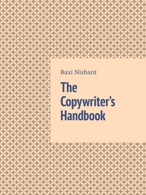 cover image of The Copywriter's Handbook