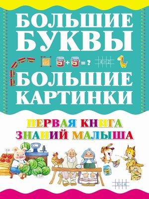 cover image of Первая книга знаний малыша
