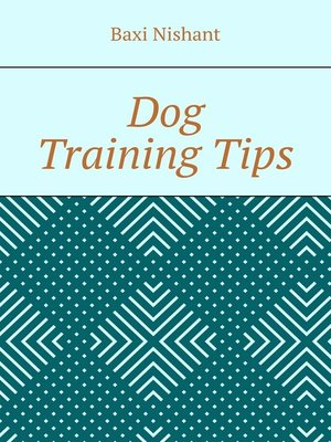 cover image of Dog Training Tips