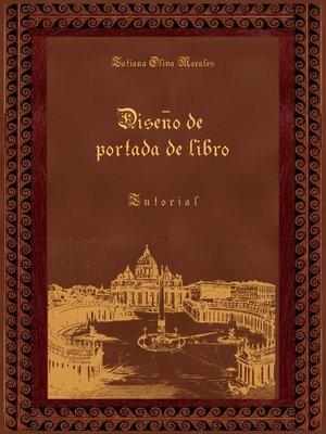 cover image of Diseño de portada de libro. Tutorial