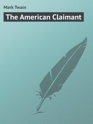 cover image of The American Claimant