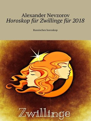 cover image of Horoskop für Zwillinge für 2018. Russisches horoskop