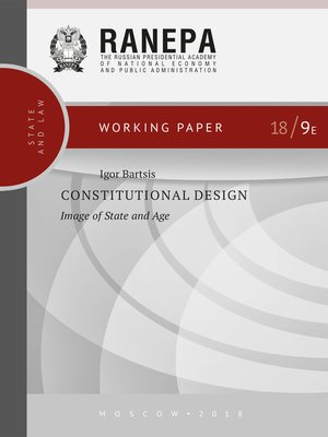 cover image of Constitutional Design