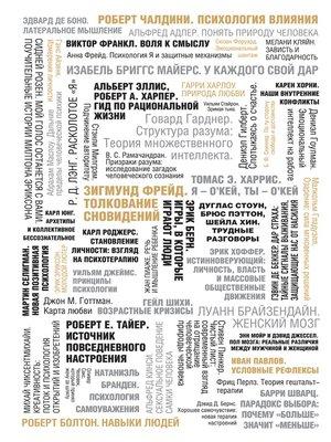 cover image of 50 великих книг по психологии