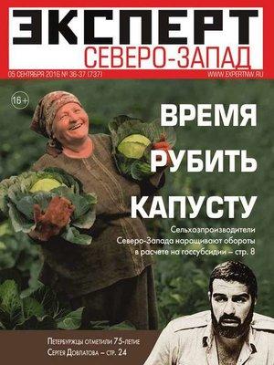 cover image of Эксперт Северо-Запад 36-37-2016