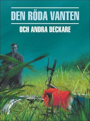 cover image of Красная перчатка. Сборник шведских детективных рассказов. Книга для чтения на шведском языке