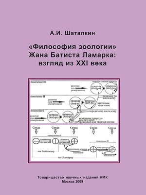 cover image of «Философия зоологии» Жана Батиста Ламарка