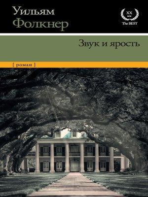 cover image of Звук и ярость