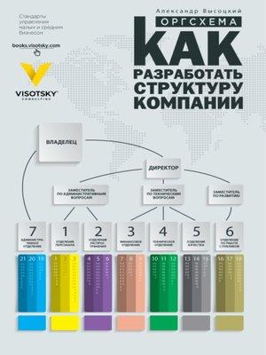 cover image of Оргсхема. Как разработать структуру компании