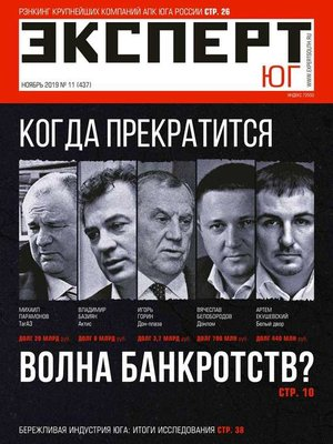 cover image of Эксперт Юг 11-2019