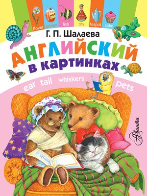 cover image of Английский в картинках