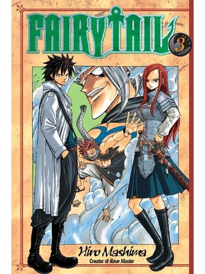 cover image of Fairy Tail, Volume 3