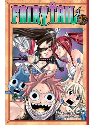 cover image of Fairy Tail, Volume 37