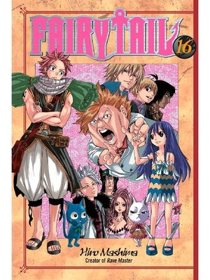 cover image of Fairy Tail, Volume 16