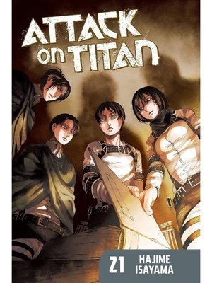 cover image of Attack on Titan, Volume 21