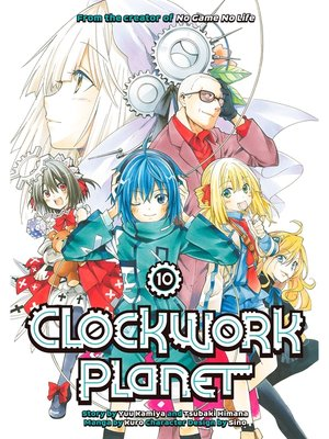 cover image of Clockwork Planet, Volume 10