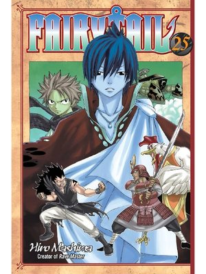 cover image of Fairy Tail, Volume 25