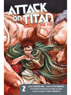 cover image of Attack on Titan: Before the Fall, Volume 2